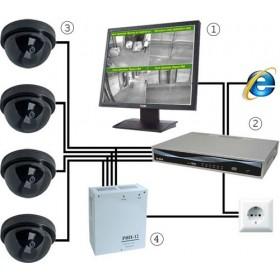 Калькулятор системы видеонаблюдения