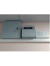Монтаж и подключение источника вторичного электропитания