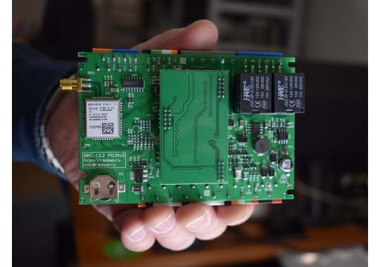 Монтаж Стандарт-Мини на базе GSM контроллера CCU422