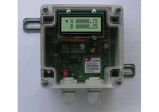 Коралл-10 GSM-транслятор показаний счётчиков воды. Изделие RA001