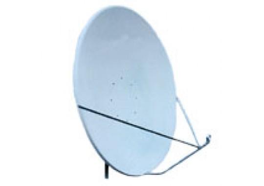 Спутниковая антенна 1.2х1.3м (без кронштейна), алюминий, офсет