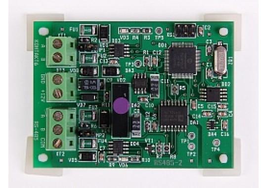 Преобразователь RS485-RS485 с гальванической развязкой интеллектуальный