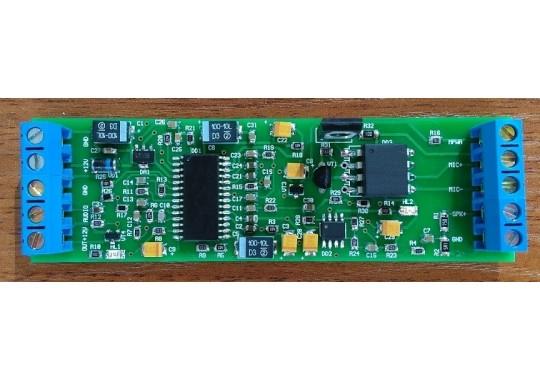 ДТ-1 Схема домофон-телефон для контроллеров CCU