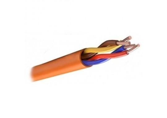 КПСнг(А)-FRLS 2х2х0.75 кабель для систем ОПС и СОУЭ огнестойкий, неэкранированный