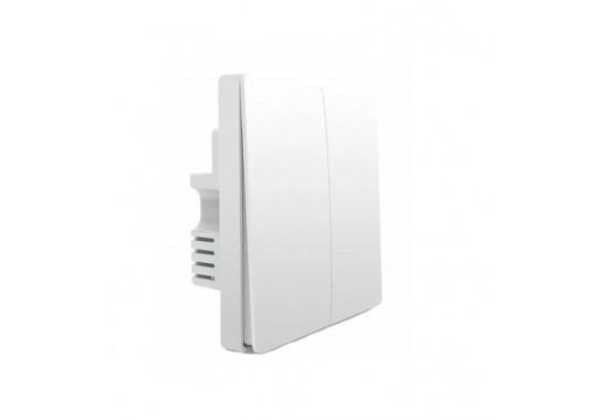 Умный выключатель AqaraWall Switch Zero fire double button