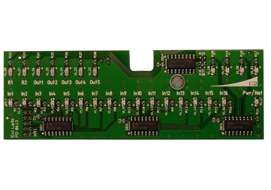 Плата расширенной индикации ExtLeds для контроллеров CCU825
