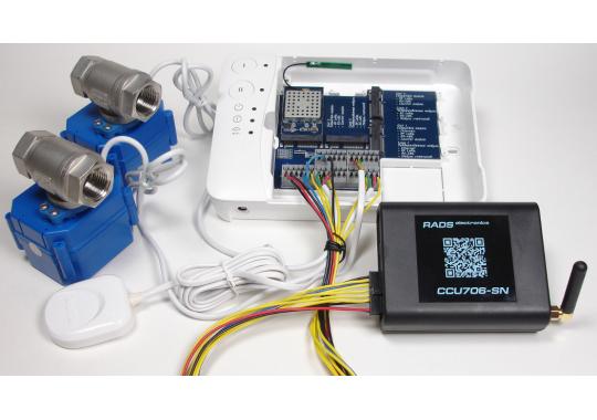 CCU706-NEPTUNE GSM контроллер для совместной работы с системой защиты от протечек воды NEPTUN SMART