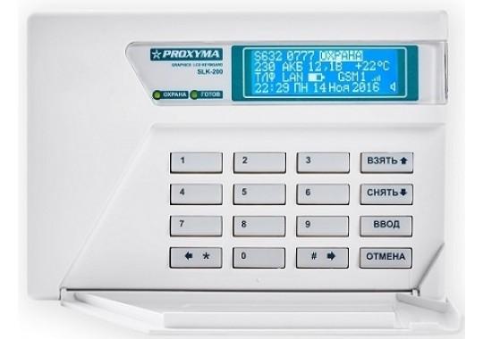 SLK-200/300 Клавиатура c ЖКИ