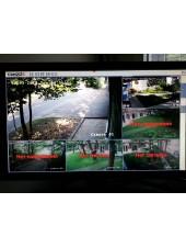 Установка, программирование, настройка и подключение 4-х канального видеорегистратора
