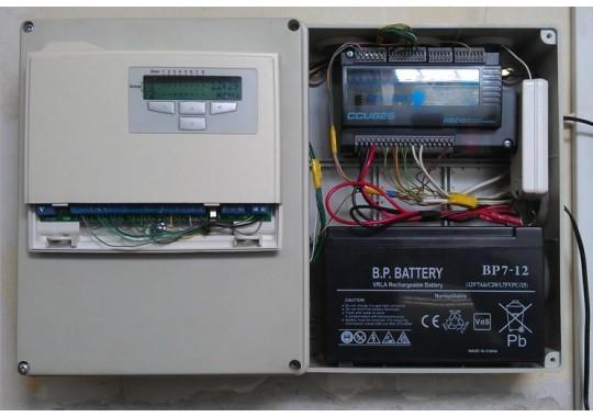 Монтаж Стандарт на базе GSM контроллера CCU825