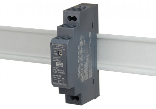 HDR-15-15 блок питания на DIN-рейке для контроллеров CCU825