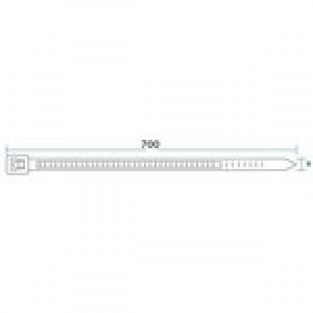 Стяжка кабельная СК-700х9