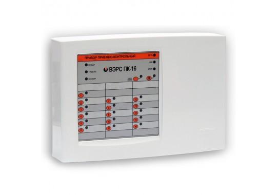 ВЭРС-ПК 16П версия 3.2 прибор охранно-пожарный 16ШС
