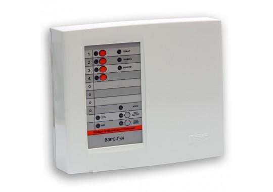 ВЭРС-ПК 4П версия 3.2 прибор приемно-контрольный охранно-пожарный на 4 шлейфа