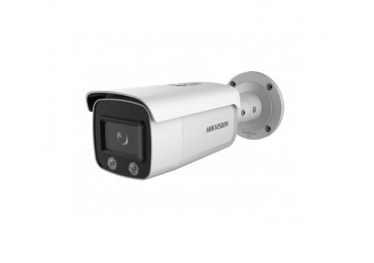 DS-2CD2T27G1-L уличная цилиндрическая IP-камера с LED-подсветкой до 30м