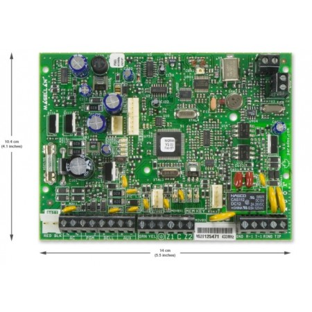 MG5000 контрольная панельна 32 зоны (до 4 проводных)