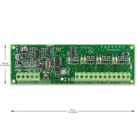SP-ZX8 расширитель на 8 (8х2) проводных зон