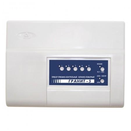 Гранит-5 с IP регистратором прибор приемно-контрольный и управления охранно-пожарный