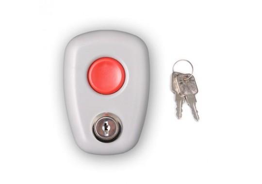 Астра-321 кнопка тревожной сигнализации с фиксацией (металлический ключ)