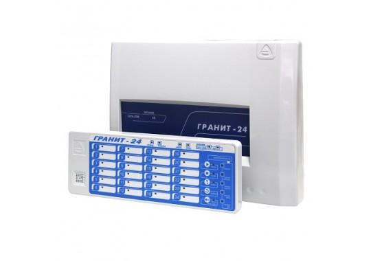Гранит-24 c выносным блоком индикации и управления прибор приемно-контрольный и управления охранно-пожарный