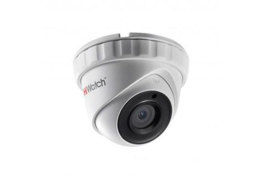 DS-T203A уличная купольная HD-TVI камера с EXIR-подсветкой до 30 м и микрофоном