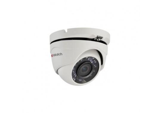 DS-T203(B) уличная купольная HD-TVI камера с EXIR-подсветкой до 20 м