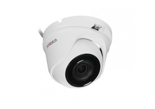 DS-T503A уличная купольная HD-TVI камера с EXIR-подсветкой до 30 м и микрофоном