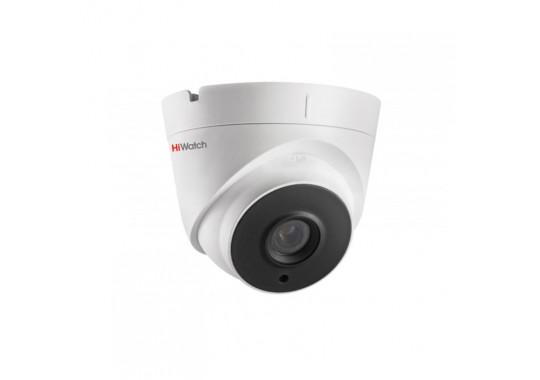 DS-T123 купольная HD-TVI видеокамера с EXIR-подсветкой до 20м