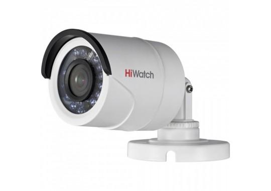 DS-T200P уличная цилиндрическая HD-TVI видеокамера с ИК-подсветкой до 20 м с PoC