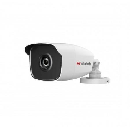 DS-T220 уличная цилиндрическая HD-TVI видеокамера с EXIR-подсветкой до 40м