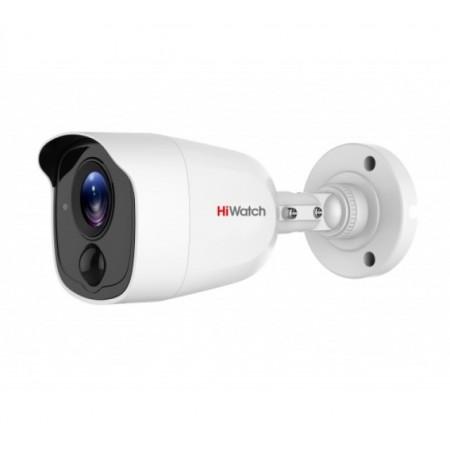 DS-T210 уличная цилиндрическая HD-TVI видеокамера с EXIR-подсветкой до 20м