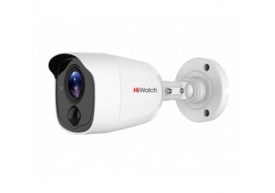 DS-T210(B) уличная цилиндрическая HD-TVI видеокамера с EXIR-подсветкой до 20м