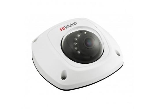 DS-T251 компактная купольная HD-TVI камера с ИК-подсветкой до 20м и микрофоном