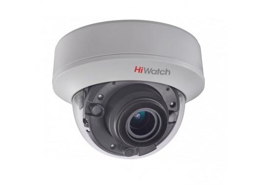 DS-2CE59U8T-AVPIT3Z уличная купольная HD-TVI камера с EXIR-подсветкой до 60 м