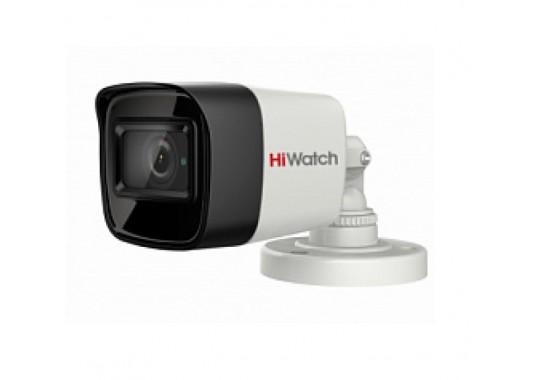 DS-T800 уличная цилиндрическая HD-TVI видеокамера с EXIR-подсветкой до 30м