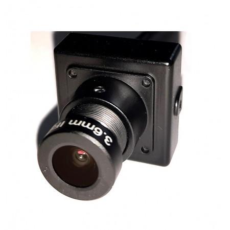 DQ2-F2052W корпусная миниатюрная MHD видеокамера